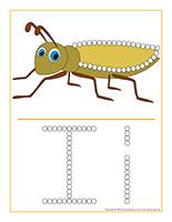Éduca-pointillés-Insectes