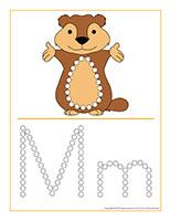 Éduca-pointillés-Jour de la marmotte