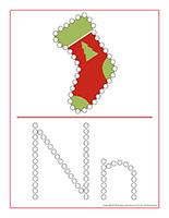 Éduca-pointillés-Noël
