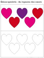 Éduca-symétrie-Au royaume des coeurs