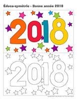 Éduca-symétrie-Bonne année 2018