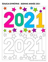 Éduca-symétrie-Bonne-année 2021