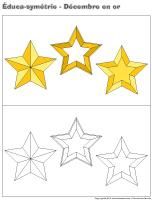 Éduca-symétrie-Décembre en or