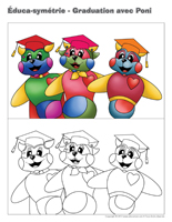 Éduca-symétrie-Graduation avec Poni