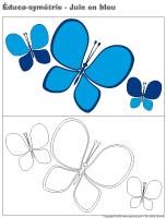 Éduca-symétrie-Juin en bleu