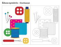 Éduca-symétrie-L'artisanat