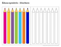 Éduca-symétrie-L'écriture