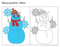 Éduca-symétrie-L'hiver