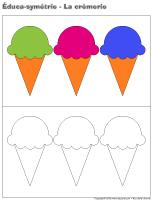 Éduca-symétrie-La crèmerie