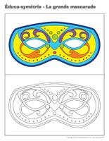 Éduca-symétrie-La grande mascarade