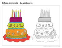 Éduca-symétrie-La pâtisserie