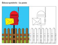 Éduca-symétrie-La poste