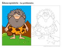 Éduca-symétrie-La préhistoire