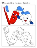 Éduca-symétrie-La santé dentaire