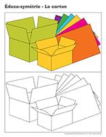 Éduca-symétrie-Le carton