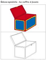 Éduca-symétrie-Le coffre à jouets