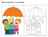 Éduca-symétrie-Le partage