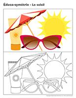 Éduca-symétrie-Le soleil
