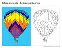 Éduca-symétrie-Le transport aérien