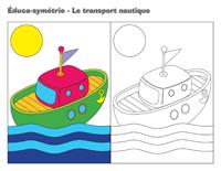 Éduca-symétrie-Le transport nautique