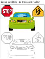 Éduca-symétrie-Le transport routier