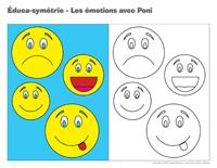 Éduca-symétrie-Les émotions avec Poni