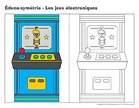 Éduca-symétrie-Les jeux électroniques