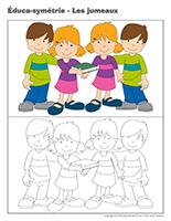 Éduca-symétrie-Les jumeaux