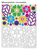 Éduca-symétrie-Les mandalas