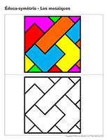 Éduca-symétrie-Les mosaiques