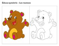 Éduca-symétrie-Les toutous
