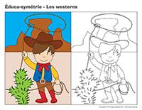 Éduca-symétrie-Les westerns