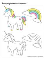 Éduca-symétrie-Licornes
