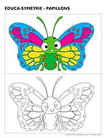 Éduca-symétrie-Papillons
