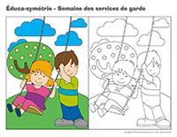 Éduca-symétrie-Semaine des services de garde 2015