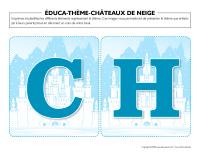 Éduca-thème-Châteaux de neige