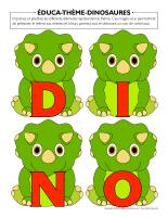 Éduca-thème-Dinosaures