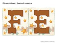 Éduca-thème-Festival country