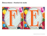 Éduca-thème-Festival de mode