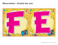 Éduca-thème-Festival des arts