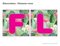 Éduca-thème-Flamants roses