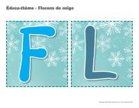 Éduca-thème-Flocons de neige