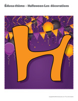 Éduca-thème-Halloween-Les décorations