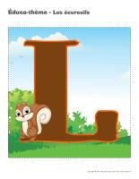 Éduca-thème-Les écureuils