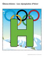 Éduca-thème-Les olympiades d'hiver