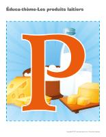 Éduca-thème-Les produits laitiers