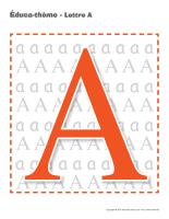 Éduca-thème-Lettre A