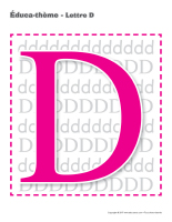 Éduca-thème-Lettre D