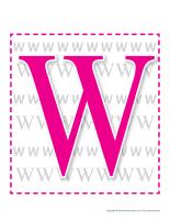 Éduca-thème-Lettre W