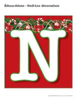 Éduca-thème-Noël-Les décorations